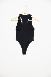 Butterfly Strong Bodysuit - Black