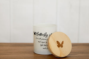 Butterfly Strong Candle