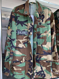LNG x MD Butterfly Camo Jacket