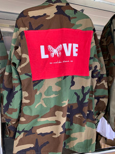LNG x MD Butterfly Love Camo Jacket