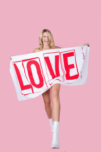 LOVE // Towel