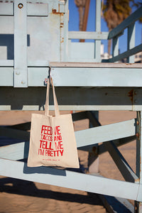 Feed Me Tacos Small Canvas Tote
