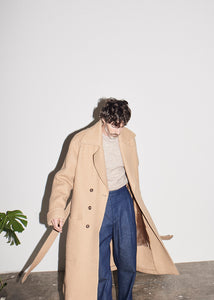 Belted Wool Coat x RB - King & Tuckfield