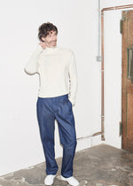 Vanilla Long Sleeve Polo Neck x RB - King & Tuckfield