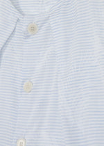 Cotton Jacquard Stripe Shell Top