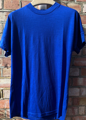 Hand Me Down - Merino Surf Blue T-shirt - King & Tuckfield