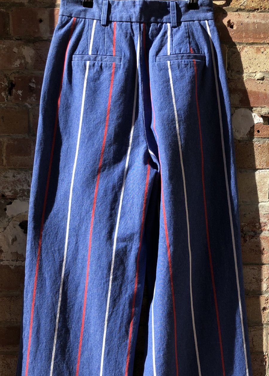 Hand Me Down - Deck Chair Stripe Trousers - King & Tuckfield