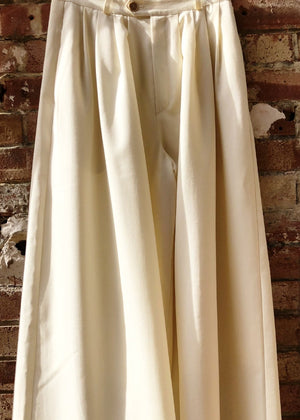 Hand Me Down - Palazzo Trousers - King & Tuckfield