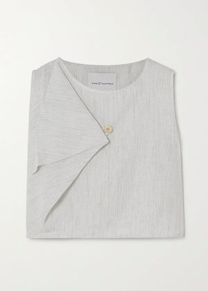 Wrap Front Shell Top - King & Tuckfield