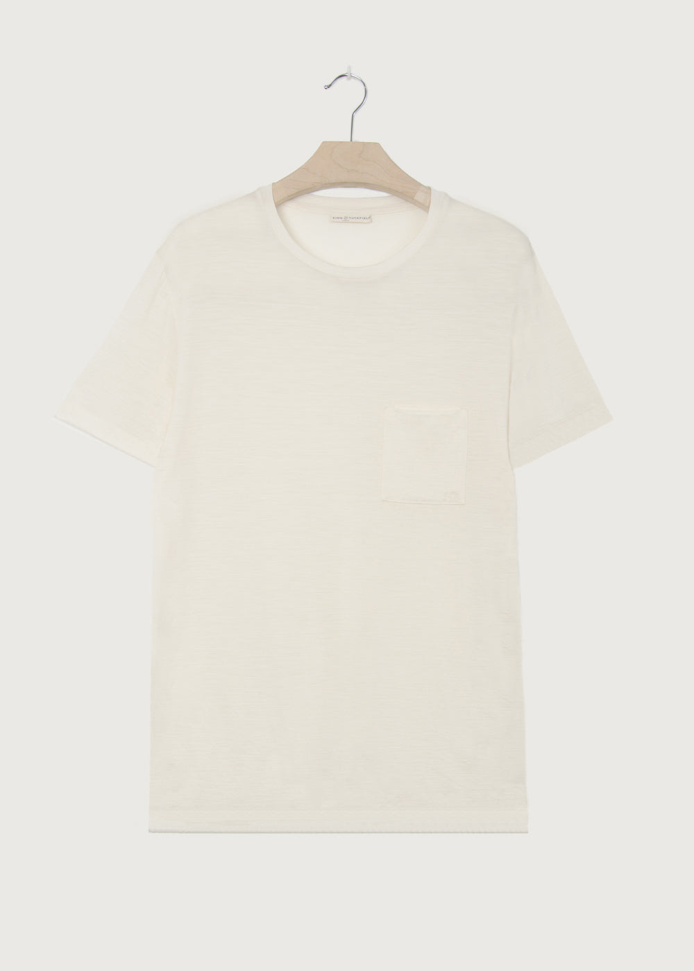 Merino Vanilla Pocket T-shirt - King & Tuckfield