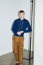 Tobacco Tapered Pleat Trouser