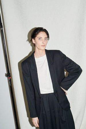 Relaxed Blazer Black