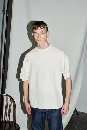 Oversized Knitted T-shirt