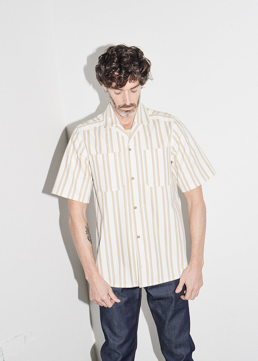Stripe Pocket Bowling Shirt KTXRB - King & Tuckfield