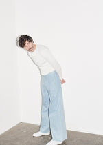 Wide Leg Pleat Trouser KTXRB - King & Tuckfield