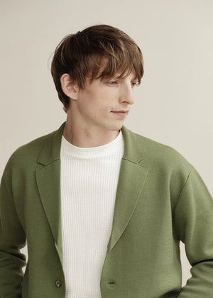 Hand Me Down - Knitted Blazer - King & Tuckfield
