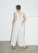 Square Neck Wide Leg Jumpsuit
