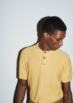 Saffron Textured Polo