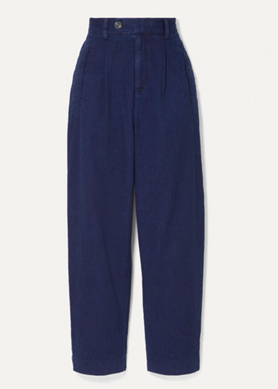 Double dyed Indigo Rinse Trousers - King & Tuckfield