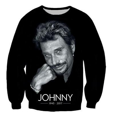 Sweat-shirt JOHNNY HALLYDAY 1943-2017 -sweat-shirt - Johnny Hallyday Fanclub