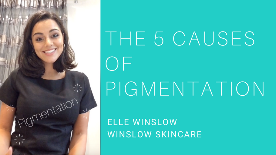 The 5 causes of pigmentation