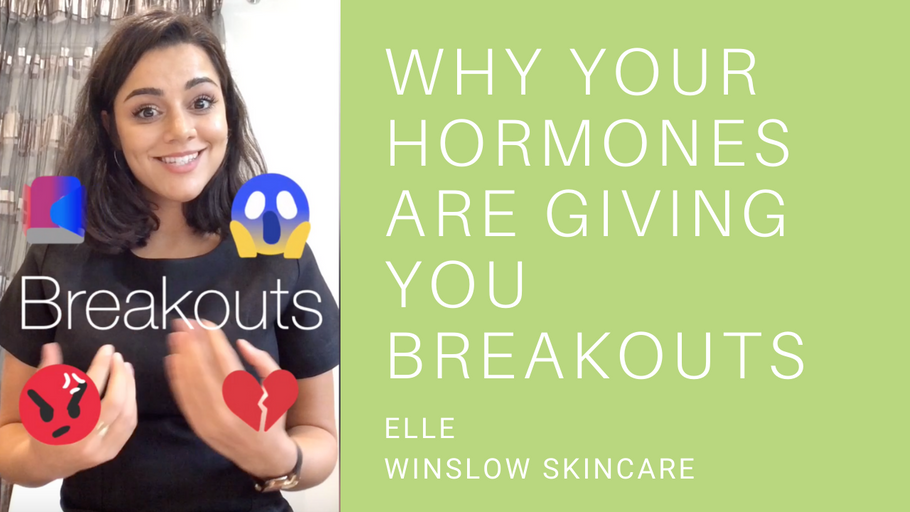 Why are your hormones giving you breakouts?