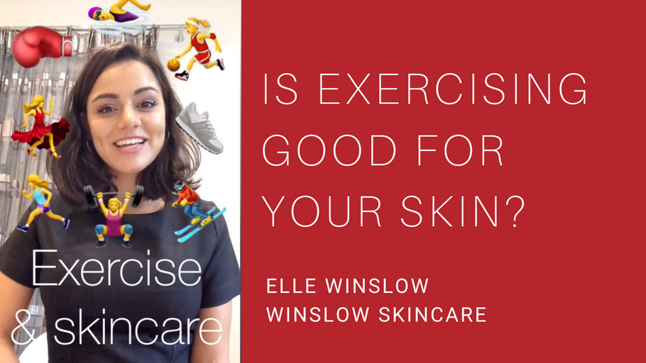 Is exercising good for your skin?