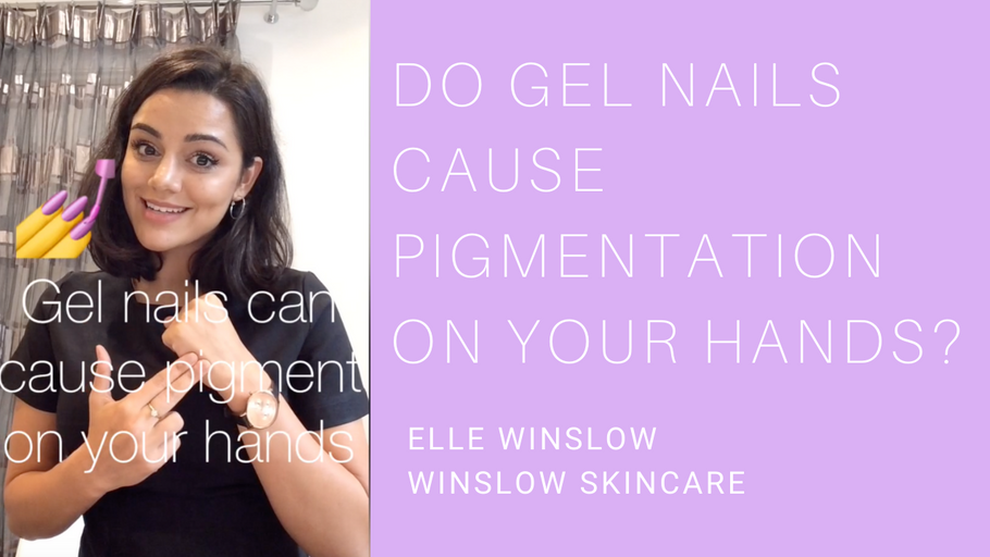 Do gel nails cause pigmentation on your hands?