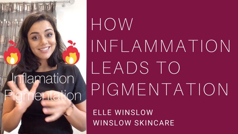 How inflammation leads to pigmentation