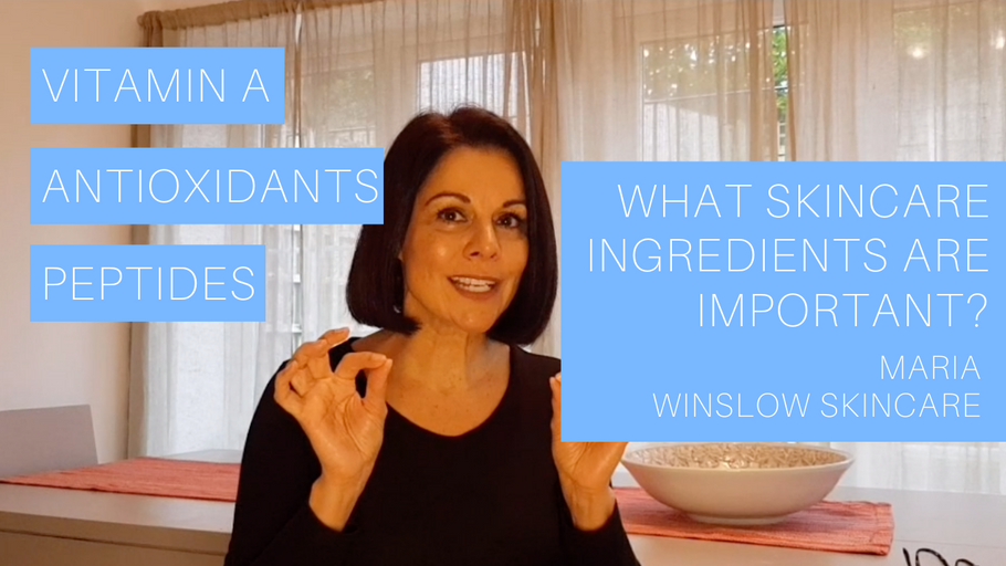 What skincare ingredients are important?