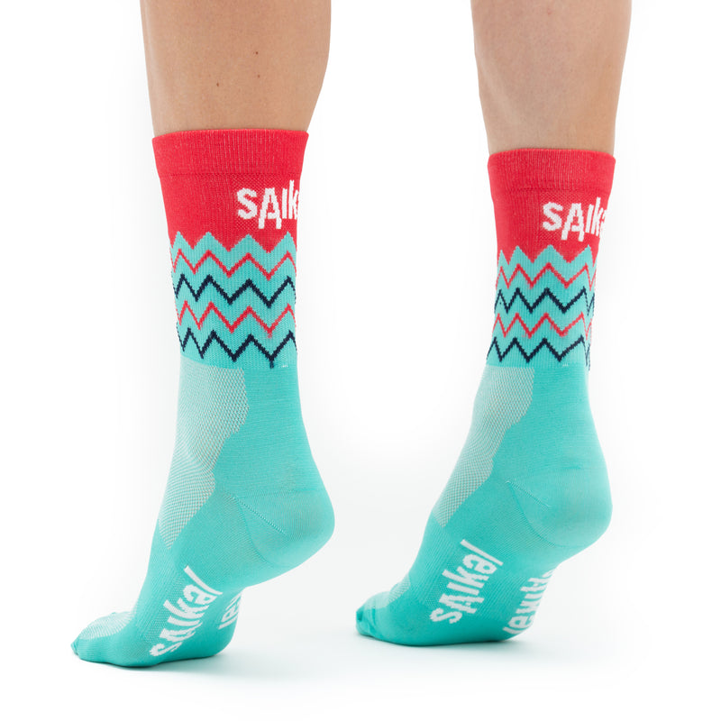 Unisex Segments Socks - Blue