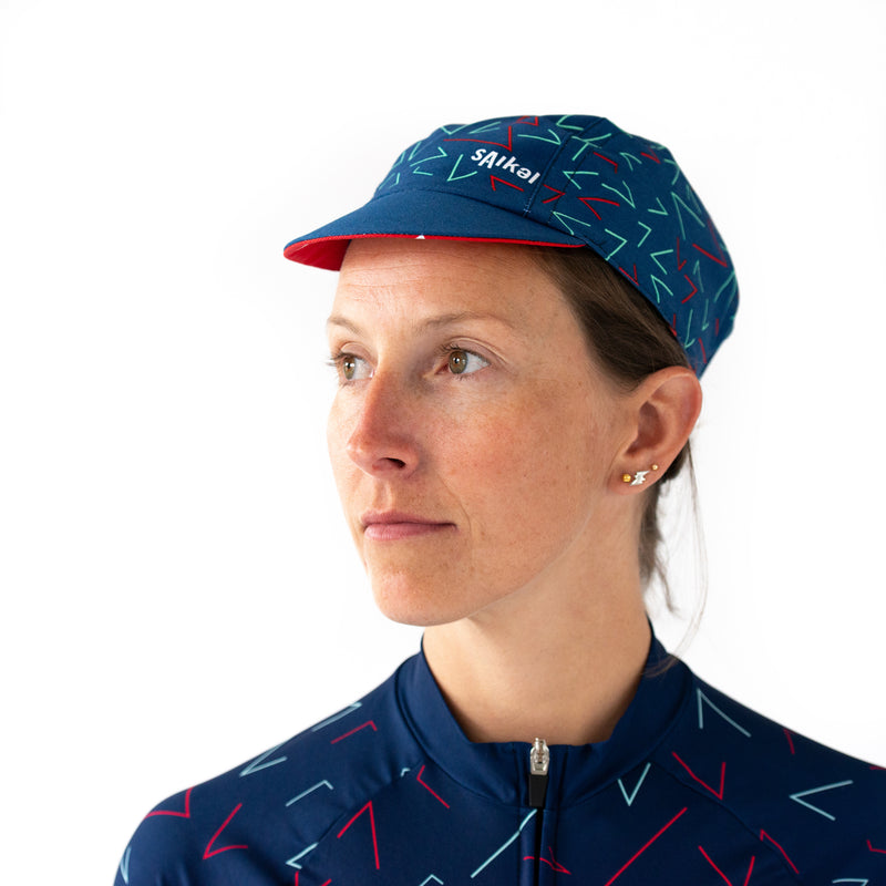 Womens Chevrons Jersey - Blue