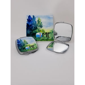 Watercolor Camp Home Coasters - Set of 4