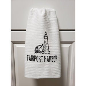 Fairport Harbor Ohio Lighthouse Kitchen Towel