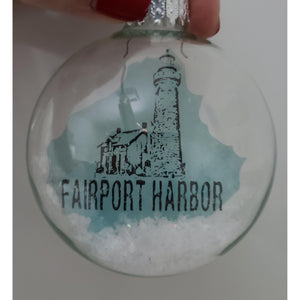 Fairport Harbor Ohio Lighthouse Ornament