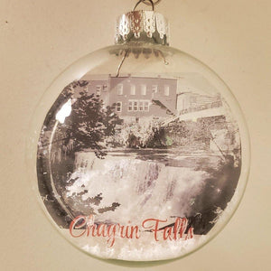 Chagrin Falls Ornament - Laughing Girl Design