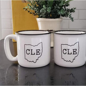 CLE Ohio Camp Mug