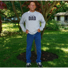 Load image into Gallery viewer, Personalized Dad Sweatshirt, love my - Laughing Girl Design
