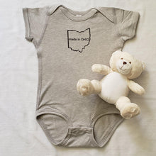 Load image into Gallery viewer, Made in OHIO Infant Bodysuit - Laughing Girl Design