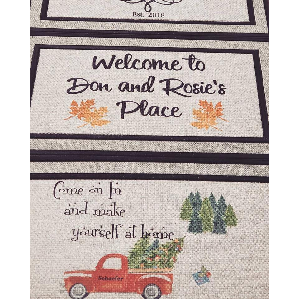 Welcome Mat - Just for you!