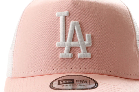 New Era 9FORTY Los Angeles Dodgers essential Pink Gorra de Rejilla para mujer