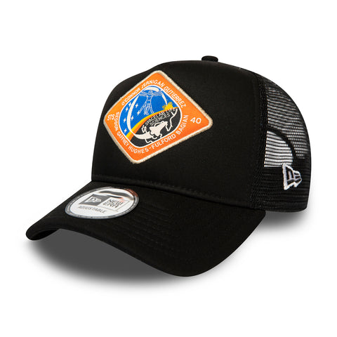 GORRA TRUCKER NEW ERA X INTERNATIONAL SPACE ARCHIVES, NEGRO