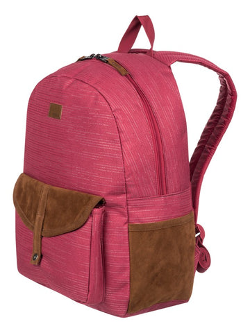 Mochila Roxy Carribean Lurex Deep Claret