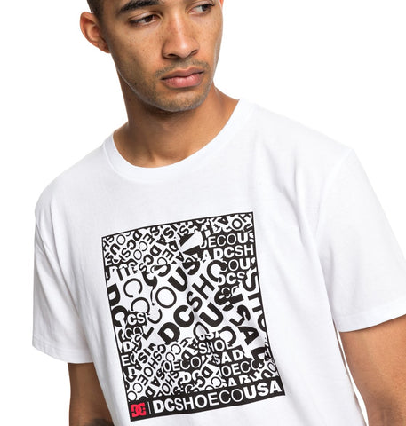 Camiseta DC SHOES - Cover Up Blanca