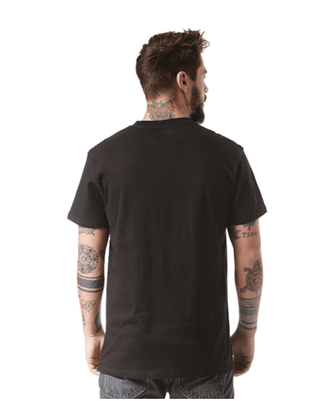 Camiseta DC SHOE CO Front Surface Negra