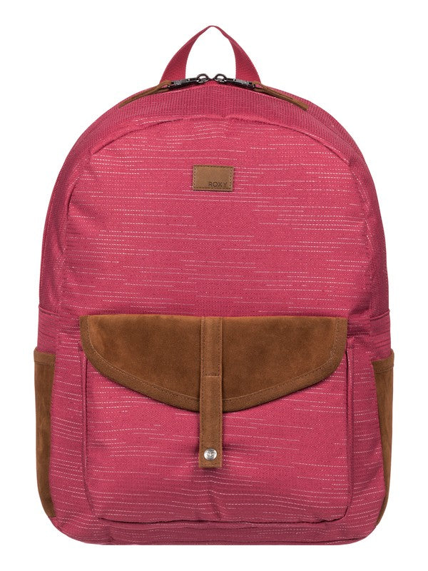 Mochila Escolar Roxy Carribean Lurex Deep Claret