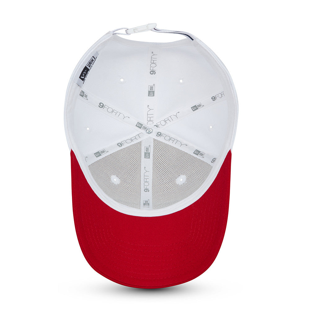 Gorra New Era 9FORTY Tricolor 1920 USA, Blanca