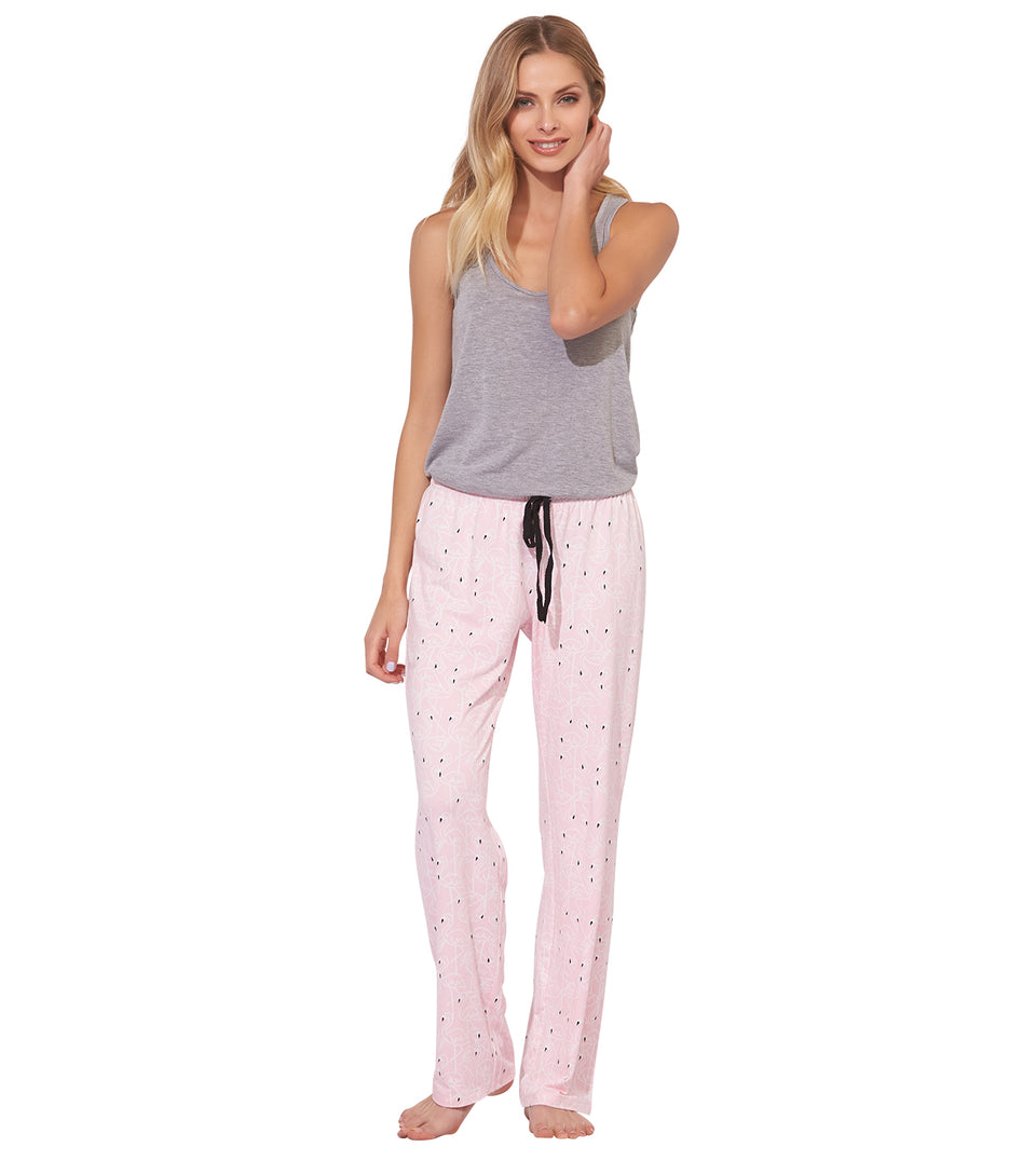 Blanche Pant in FLAMINGO