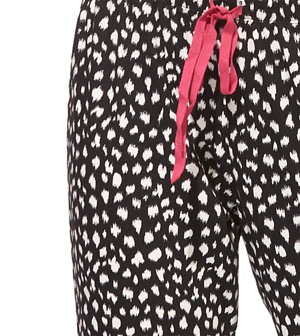 Blanche Pant in IKAT ANIMAL
