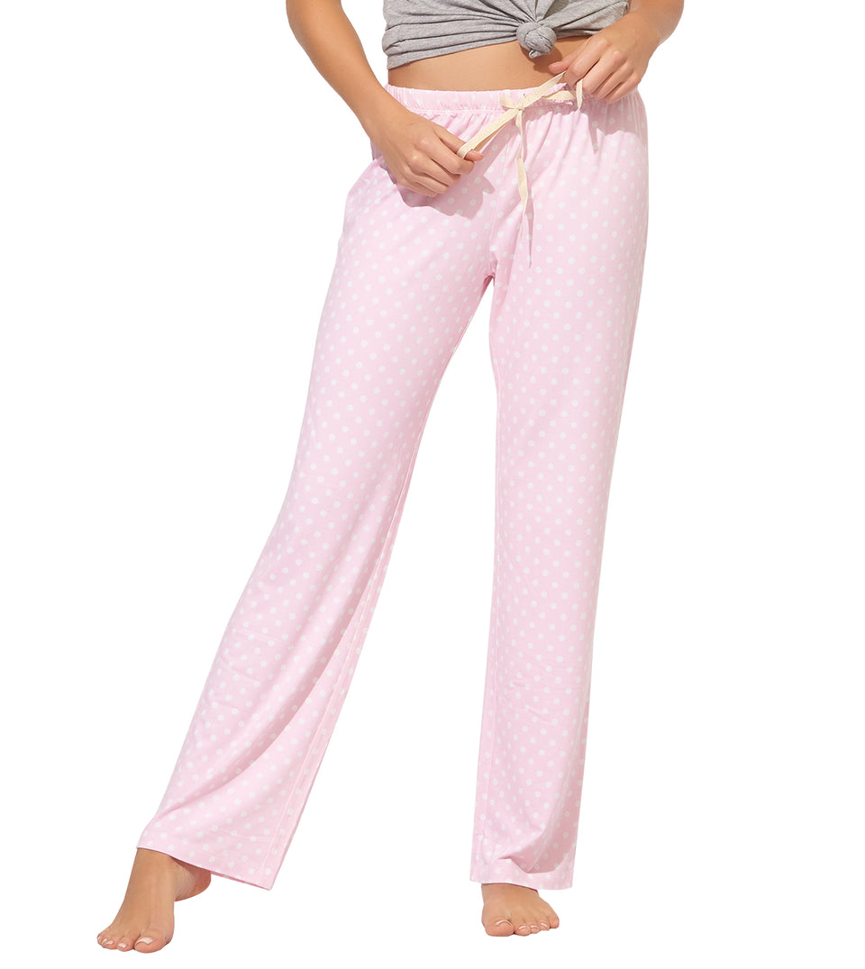 Blanche Pant in ORCHID PINK DOT